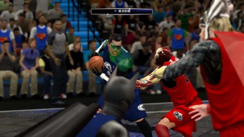 超级英雄乱入NBA 2K14