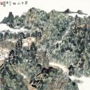 蜀中山村 68x68cm 2008年