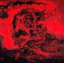 梦境 2001年 纸本 68cmx68cm 纪连彬