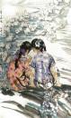 两个小姑娘 170cm×100cm 1980年