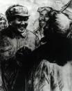 和陕北人民在一起55cm×40cm,1964年