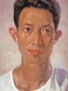 作者自画油画像 1966年