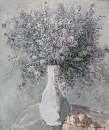 浅色调静物之三2007年(50cm×60cm)