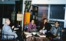 1996 在纽约著名书画鉴藏家王已千先生家中作客