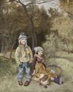 秋天的童话80x100cm2010年