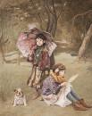 秋天的童话92x73cm2012