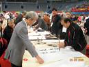 罗钟在北京奥林匹克体育馆创作(二)