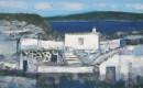 希腊风情4 2004年布面油画