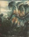 1杨耀宁-现代山水画