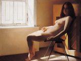 王沂东作品:《窗前的女人体》