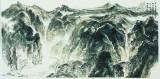 笔致清远136x68cm 中国画 2011年