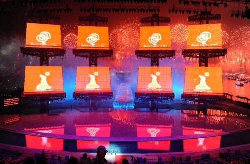广州亚运会开幕式隆重举行