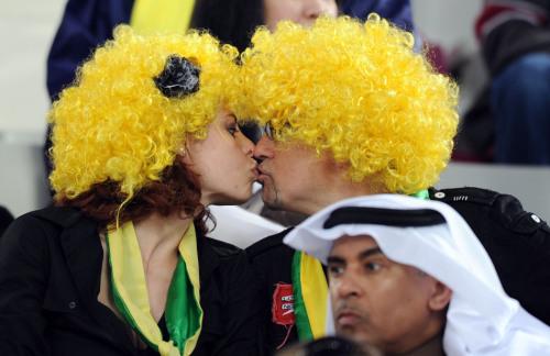 亚洲杯决赛球迷风采