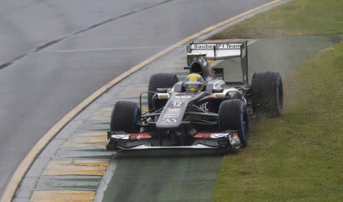 图文-F1澳大利亚站排位赛 索伯车队古铁雷兹
