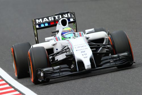 图文-F1日本站排位赛 威廉姆斯车队马萨