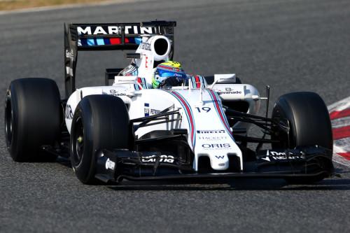 图文-F1季前第二轮试车次日 威廉姆斯车队马萨