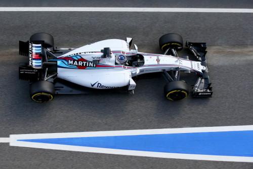 图文-F1巴塞罗那试车八日 威廉姆斯车队博塔斯