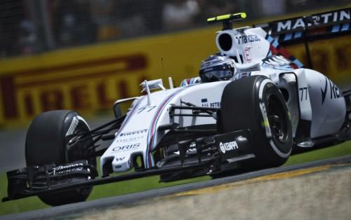 图文-F1澳大利亚站排位赛 威廉姆斯车队博塔斯