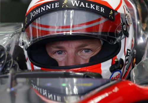 图文-F1马来站第1次练习赛 迈凯轮车队巴顿