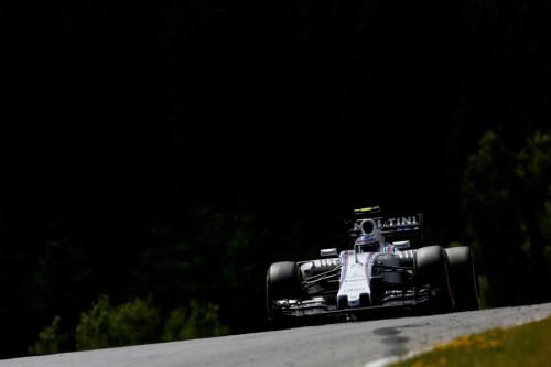 图文-F1奥地利站正式比赛 威廉姆斯车队博塔斯