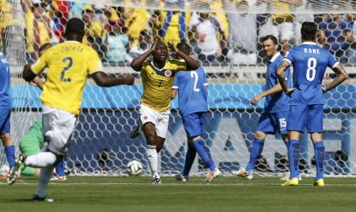高清图-[C组首轮]哥伦比亚3-0希腊