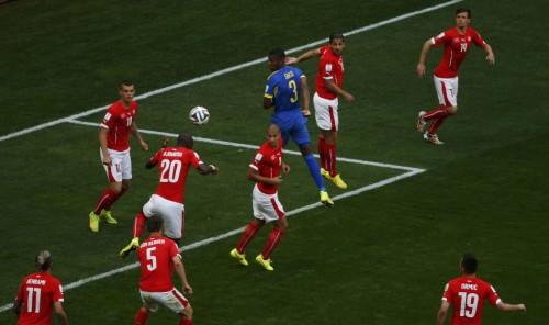 高清图-[E组首轮]瑞士2-1厄瓜多尔