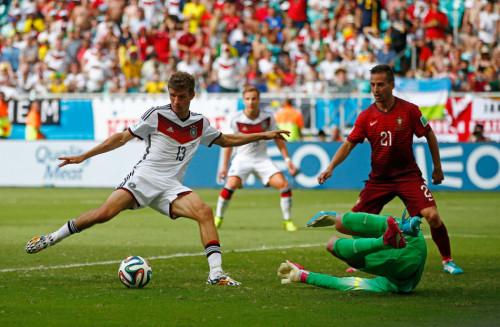 高清图-[G组首轮]德国4-0葡萄牙