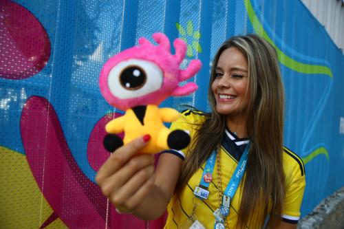 新浪专访哥伦比亚美女记者