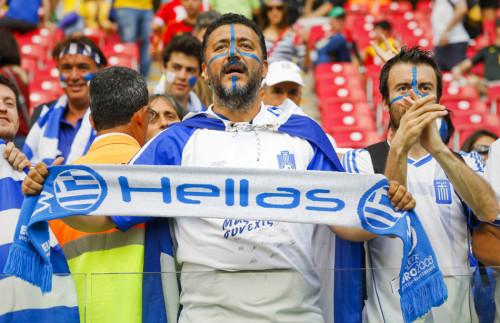 希腊哥斯达黎加球迷集锦