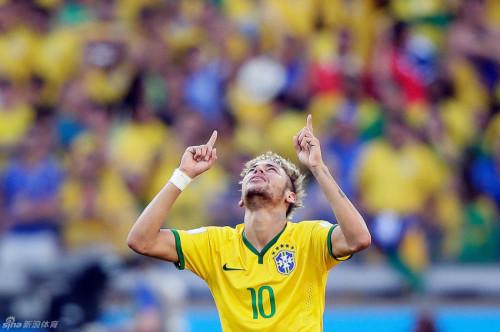 内马尔巴西世界杯回顾
