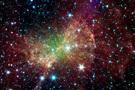 NASA展示宇宙星空彩图
