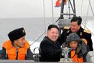 金正恩视察朝鲜海军