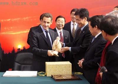 中国是萨科齐上任后出访时间最长的国家
