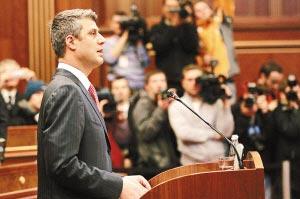 科索沃宣布独立塞尔维亚拒承认(组图)