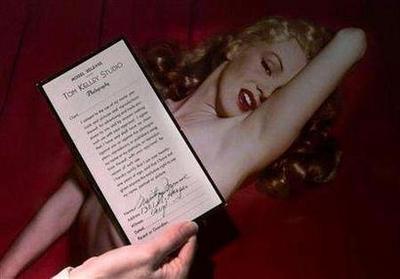梦露性爱录像带拍得150万美元高价(图)