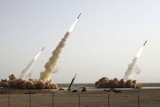 伊朗试射多枚远程导弹照片被疑造假(组图)