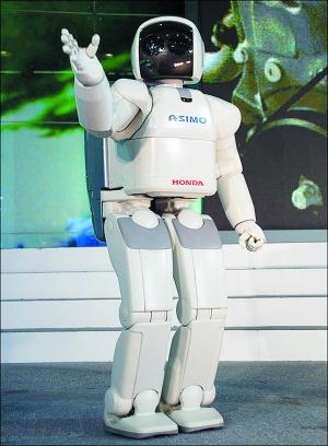 机器人出任车展展台主持人