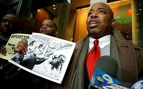 白宫官员谴责媒体用黑猩猩漫画影射奥巴马