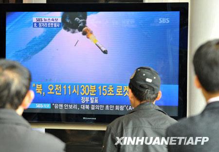 朝鲜宣布成功发射试验通信卫星并送入轨道