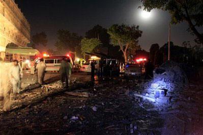 巴基斯坦一酒店遭炸弹袭击