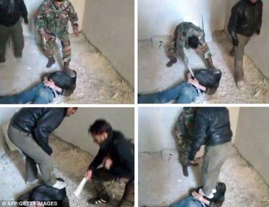 捆绑虐待视频下载_网传叙士兵虐待反对派视频 停火协议或受阻