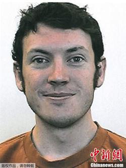丹佛枪击案嫌犯詹姆斯・霍尔姆斯(资料图)