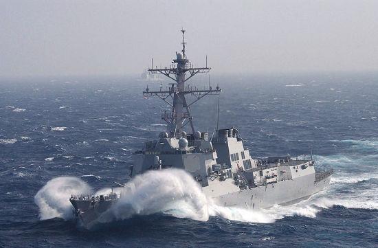 �]vۯ4�}��y�_美国4艘舰艇抵达韩国港口准备参加\