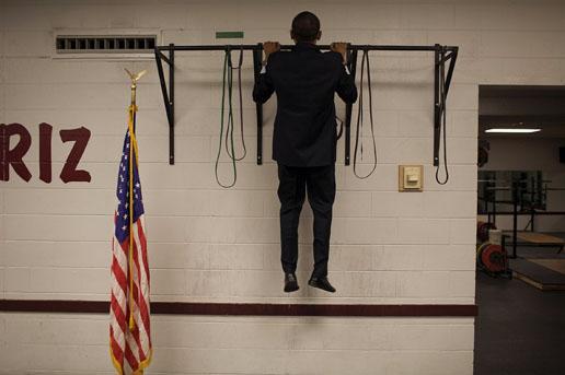 组图:新闻人物类组照一等奖-奥巴马竞选总统(2)