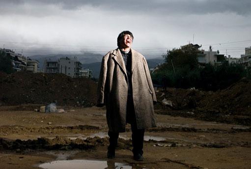 图文:荷赛新闻人物单幅三等奖-阿富汗移民在希腊