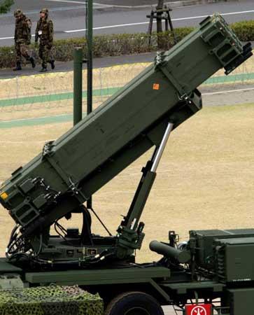 图文:日本未对朝鲜的发射物进行拦截