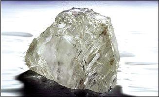 钻石重达158.2克拉
