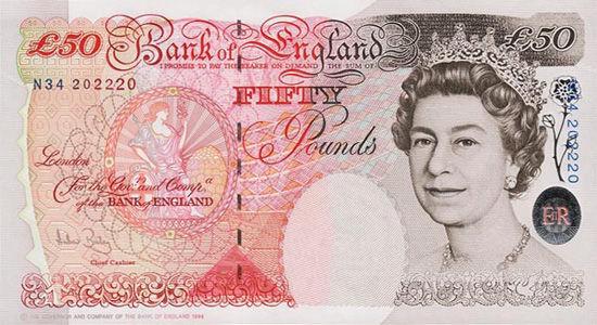 英国央行计划2016年发行塑料货币(图)
