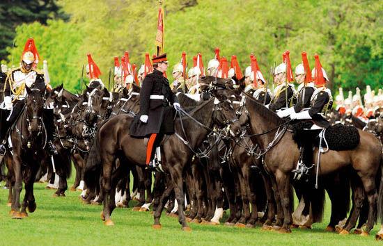 英国皇家骑兵队