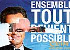 法国总统大选花絮:法国竞选海报常面目全非